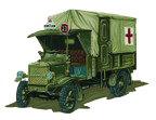 World War I ambulance