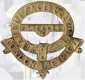Brass Shoulder Badge