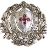 Silver replica of the LAC badge. This was awarded to Dorothy Franklin at the end of the war.