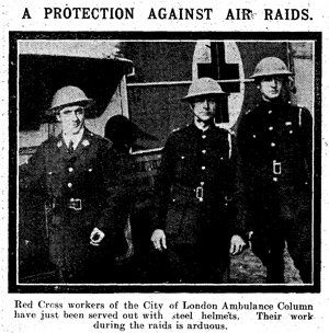 Cutting from The Daily Mirror of 6 November 1917 (page 4).