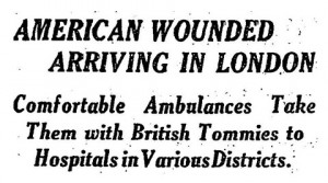 Article published in the New York Times on 14 July 1918